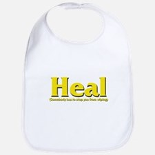 Heal - Somebody has to stop y Bib