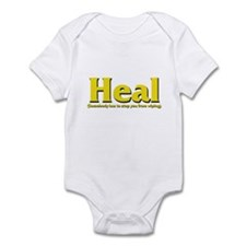 Heal - Somebody has to stop y Infant Bodysuit