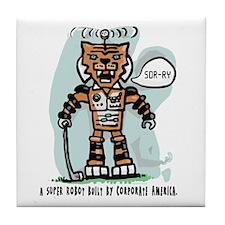 Robot Tiger Tile Coaster