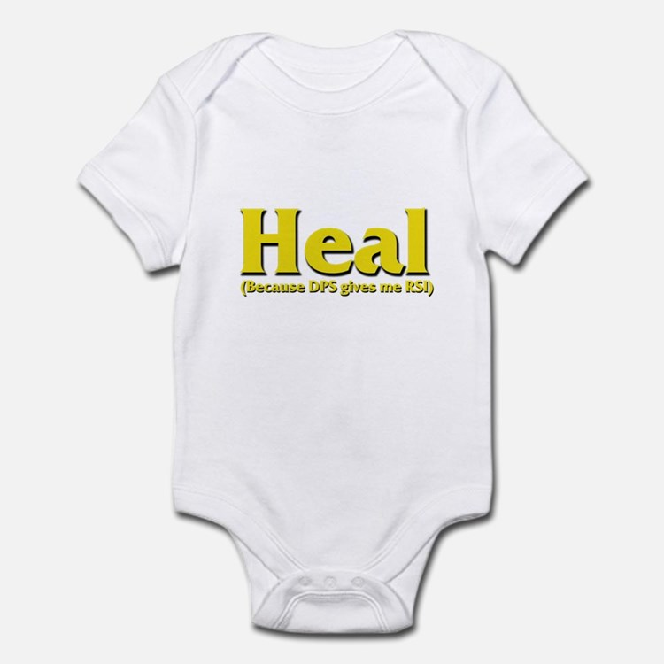 Heal - Because DPS gives me R Infant Bodysuit