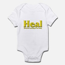 Heal - Because tanking is too Infant Bodysuit