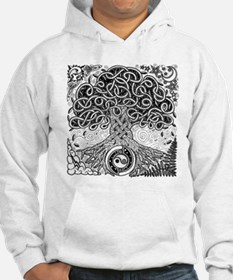 Celtic Tree of Life Ink Jumper Hoody