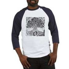 Celtic Tree of Life Ink Baseball Jersey