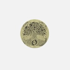 Celtic Tree of Life Ink Mini Button