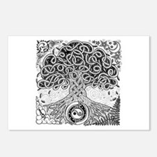 Celtic Tree of Life Ink Postcards (Package of 8)