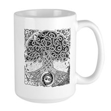 Celtic Tree of Life Ink Mug