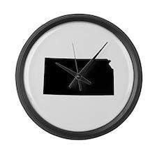 Kansas Large Wall Clock