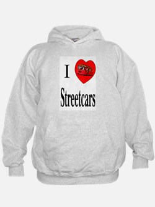 I Love Streetcars Hoodie