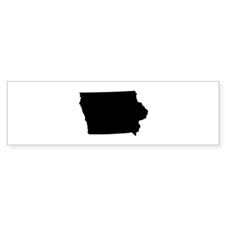 Iowa Sticker (Bumper)