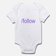 /follow Infant Bodysuit