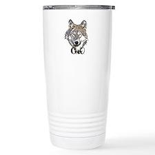 Cherokee Wolf Travel Mug