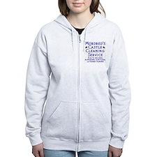 Cute Medieval Zip Hoodie