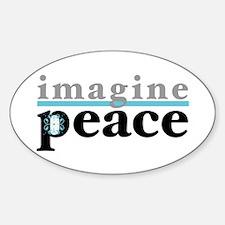 Imagine Peace Decal