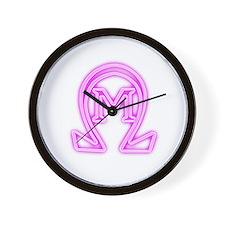 revenge of the nerds omega mu Wall Clock