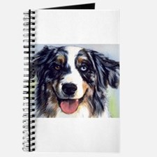 Cute Australian shepherd Journal