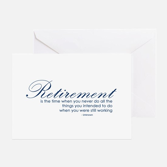 Retirement Quotes Greeting Cards, Thank You Cards, and