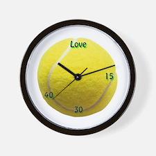 Classic Tennis Wall Clock