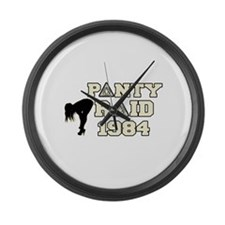 revenge of the nerds panty ra Large Wall Clock