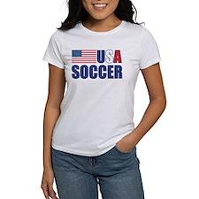 Flag USA Soccer Tee