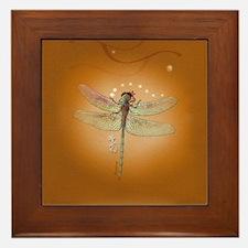 Dragonfly Character - Framed Tile