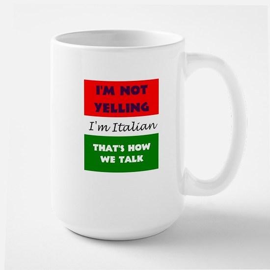 ITALIAN TALK Large Mug