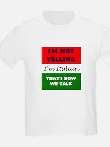 ITALIAN TALK T-Shirt