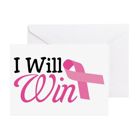 I Will Win Greeting Cards (Pk of 10)