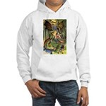 BEWARE THE JABBERWOCK Hooded Sweatshirt