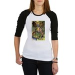 BEWARE THE JABBERWOCK Jr. Raglan