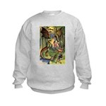 BEWARE THE JABBERWOCK Kids Sweatshirt