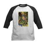 BEWARE THE JABBERWOCK Kids Baseball Jersey