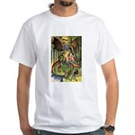 BEWARE THE JABBERWOCK White T-Shirt