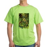 BEWARE THE JABBERWOCK Green T-Shirt