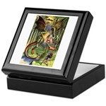 BEWARE THE JABBERWOCK Keepsake Box