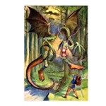BEWARE THE JABBERWOCK Postcards (Package of 8)