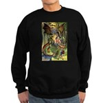 BEWARE THE JABBERWOCK Sweatshirt (dark)