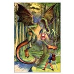 BEWARE THE JABBERWOCK Large Poster