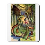BEWARE THE JABBERWOCK Mousepad