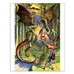 BEWARE THE JABBERWOCK Small Poster