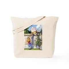 ALICE & HUMPTY DUMPTY Tote Bag