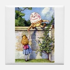 ALICE & HUMPTY DUMPTY Tile Coaster