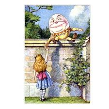 ALICE & HUMPTY DUMPTY Postcards (Package of 8)