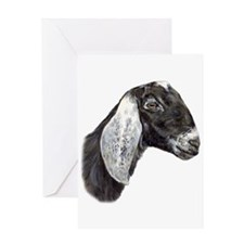 NubianGoat Greeting Cards