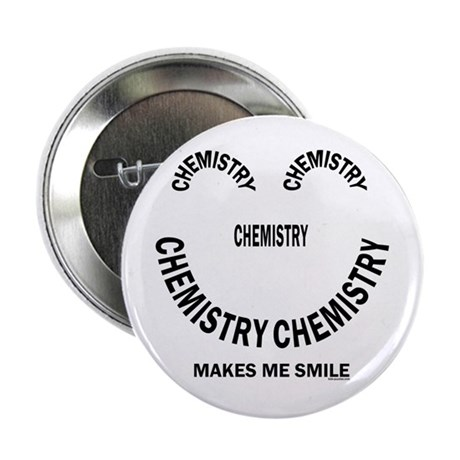 "Chemistry Smile 2.25"" Button"