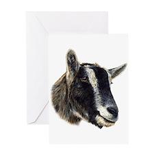 Cute Goat Greeting Card