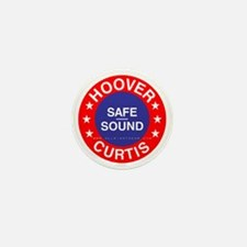Hoover Curtis Mini Button