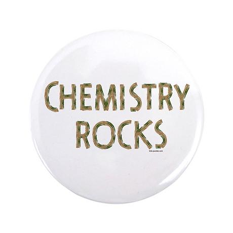 "Chemistry Rocks 3.5"" Button (100 pack)"