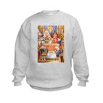 TRIAL OF THE KNAVE OF HEARTS Kids Sweatshirt