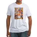 TRIAL OF THE KNAVE OF HEARTS Fitted T-Shirt