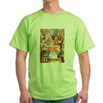 TRIAL OF THE KNAVE OF HEARTS Green T-Shirt